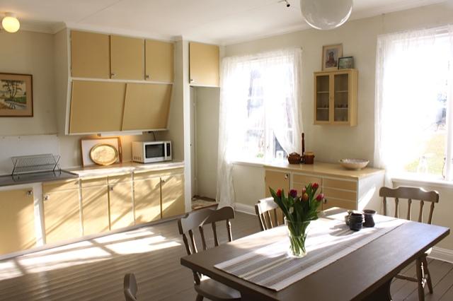 Kasernen på Ekeborg Sommarstuga kök